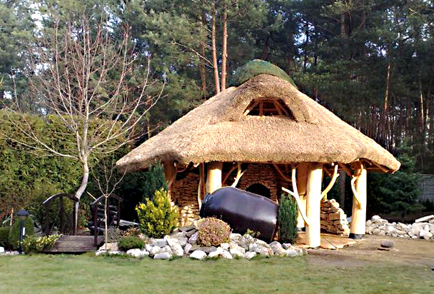 gartenpavillon holz aus polen. Black Bedroom Furniture Sets. Home Design Ideas
